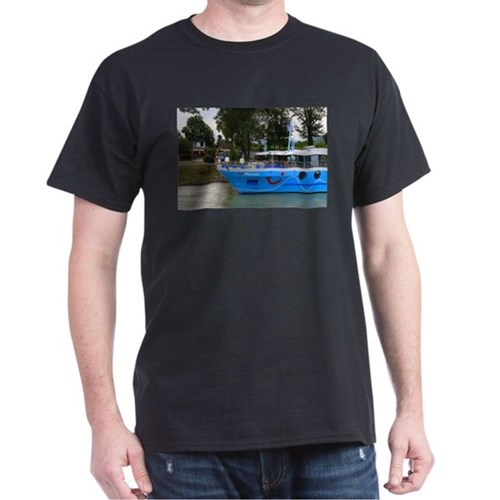 Danube cruise ship, Durnstein, Austria T-Shirt