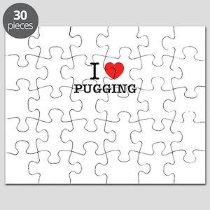 I Love PUGGING Puzzle