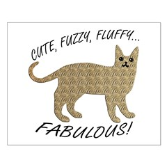 Fluffy and Fabulous Posters