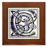 Monogram - Cameron of Erracht Framed Tile