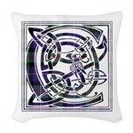 Monogram - Cameron of Erracht Woven Throw Pillow