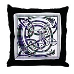 Monogram - Cameron of Erracht Throw Pillow