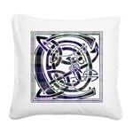 Monogram - Cameron of Erracht Square Canvas Pillow