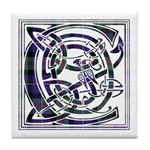 Monogram - Cameron of Erracht Tile Coaster