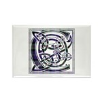Monogram - Cameron of Erracht Rectangle Magnet (10