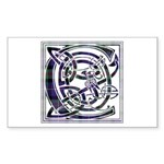 Monogram - Cameron of Erracht Sticker (Rectangle 1