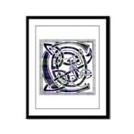 Monogram - Cameron of Erracht Framed Panel Print