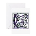 Monogram - Cameron of Erracht Greeting Card
