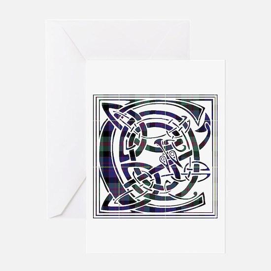 Monogram - Cameron of Erracht Greeting Card