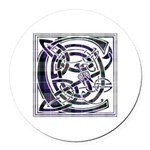 Monogram - Cameron of Erracht Round Car Magnet