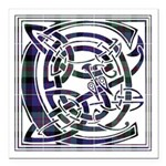 Monogram - Cameron of Erracht Square Car Magnet 3