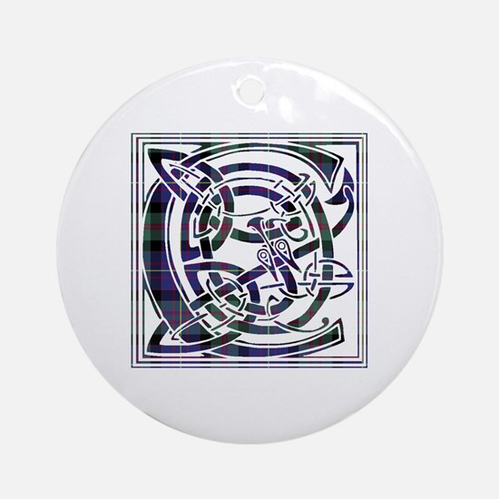 Monogram - Cameron of Erracht Ornament (Round)