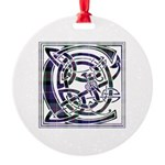 Monogram - Cameron of Erracht Round Ornament
