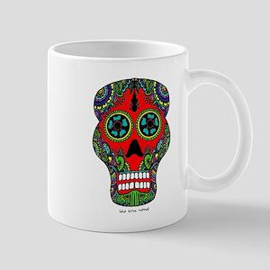 Henna Sugar Skull Mug