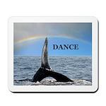 WHALE DANCER Mousepad