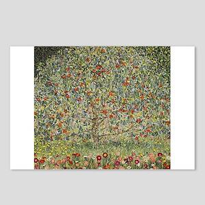 Gustav Klimt Apple Tree Postcards (Package of 8)