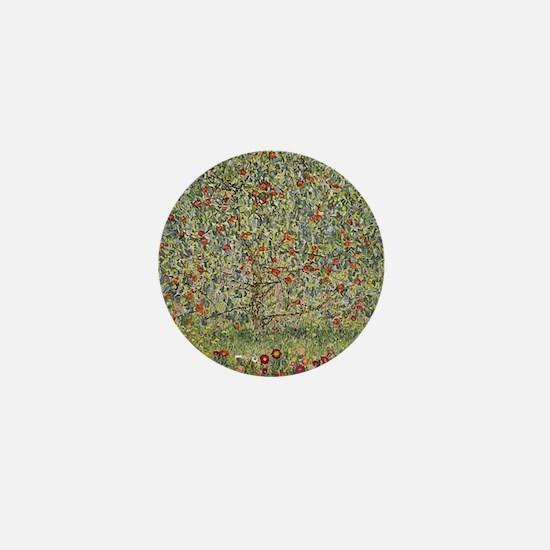 Gustav Klimt Apple Tree Mini Button