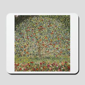 Gustav Klimt Apple Tree Mousepad