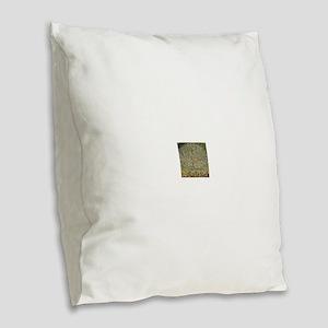 Gustav Klimt Apple Tree Burlap Throw Pillow