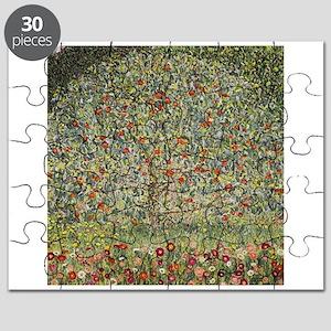Gustav Klimt Apple Tree Puzzle
