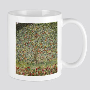 Gustav Klimt Apple Tree Mugs