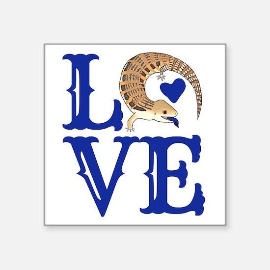 Love Blue Tongued Skink Sticker