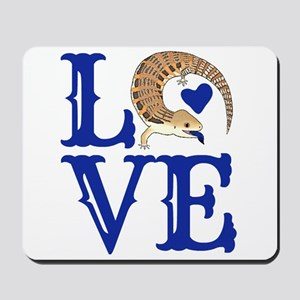 Love Blue Tongued Skink Mousepad