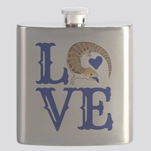 Love Blue Tongued Skink Flask