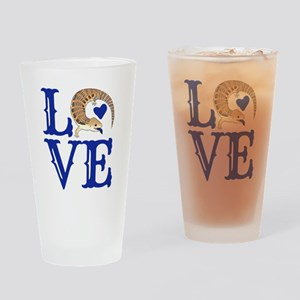 Love Blue Tongued Skink Drinking Glass