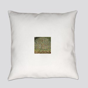 Gustav Klimt Apple Tree Everyday Pillow