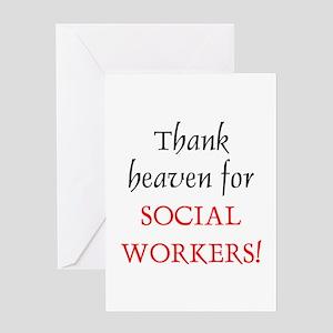 Thank Heaven SW BRT Greeting Card
