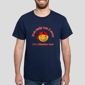 Not only am i cute I'm Albanaian too Dark T-Shirt