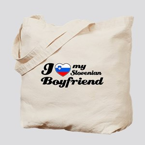 I love my Slovenian Boyfriend Tote Bag