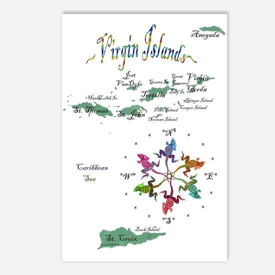 Virgin Islands Postcards (Package of 8)