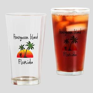 Honeymoon Island Florida Drinking Glass