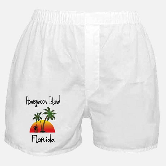 Honeymoon Island Florida Boxer Shorts
