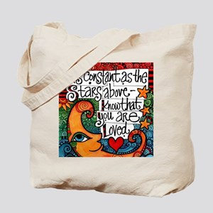 Know That You Are Loved Inspirational Moo Tote Bag
