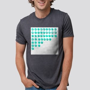 Turquoise Control Buttons T-Shirt