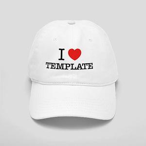 I Love TEMPLATE Cap