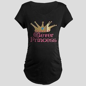 Clever Princess Maternity Dark T-Shirt