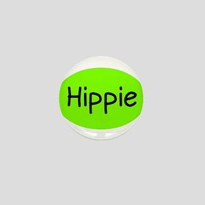Hippie Mini Button