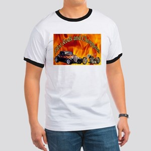Hot Rods and Choppers Ringer T