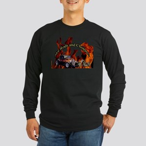 Hot Rods and Choppers Long Sleeve Dark T-Shirt