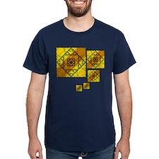 Fractal Geometry Dark T-Shirt