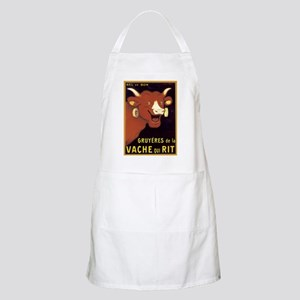 Vintage Cheese Poster BBQ Apron