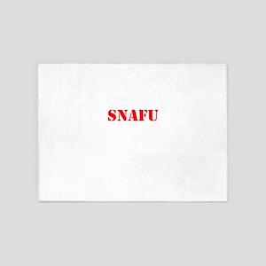 SNAFU 5'x7'Area Rug