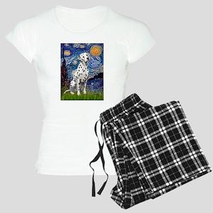 Dalmatian 1 - Starry Night (Vert.) Pajamas