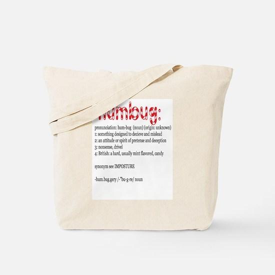 Humbug: Tote Bag