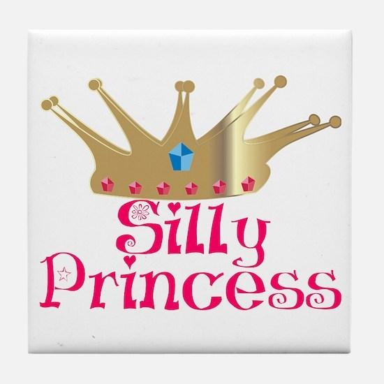 Silly Princess Tile Coaster