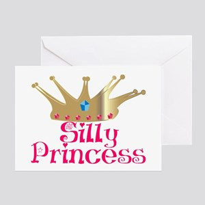 Silly Princess Greeting Card